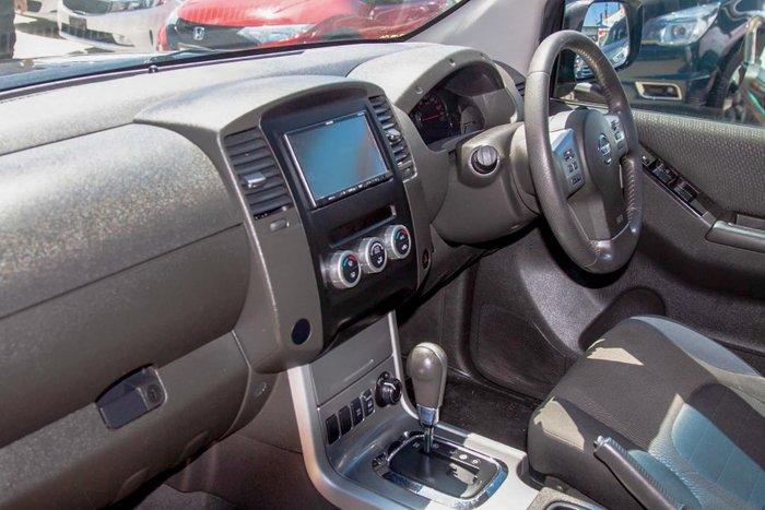 2012 Nissan Navara ST-X D40 Series 5 4X4 Midnight Black