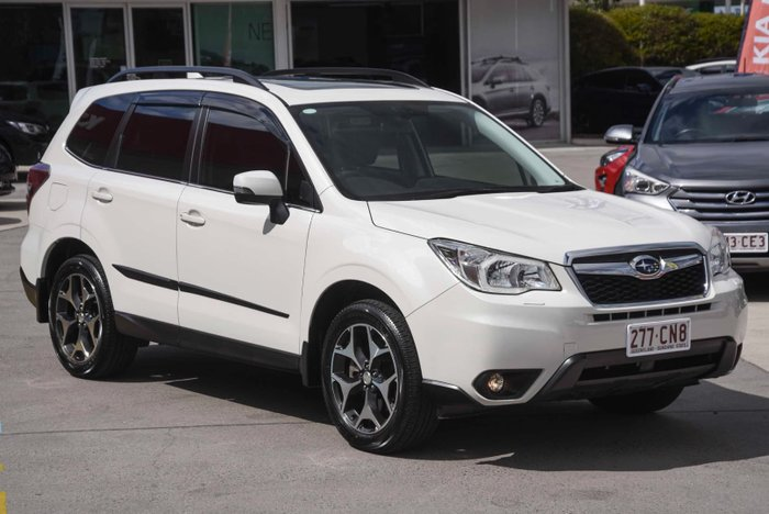 2015 Subaru Forester 2.0D-S S4 MY15 AWD Crystal White