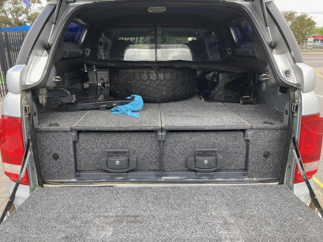 2013 Volkswagen Amarok TDI420 HIGHLINE (4x4) SILVER