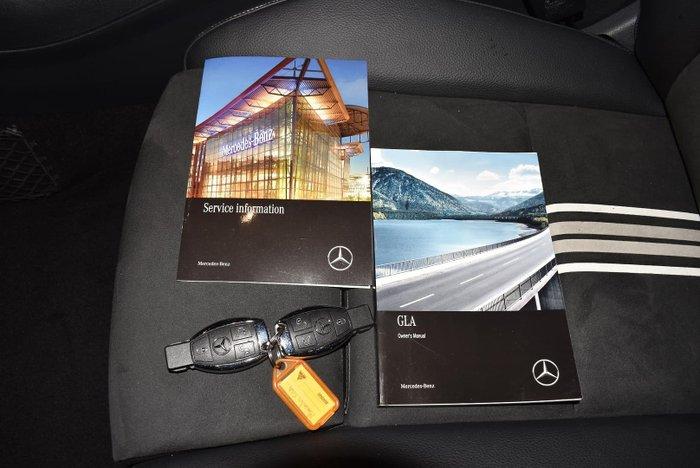 2017 Mercedes-Benz GLA-Class GLA250 X156 Four Wheel Drive Cirrus White