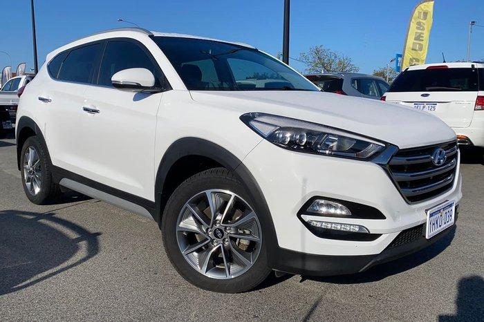 2016 Hyundai Tucson Elite TLe AWD White