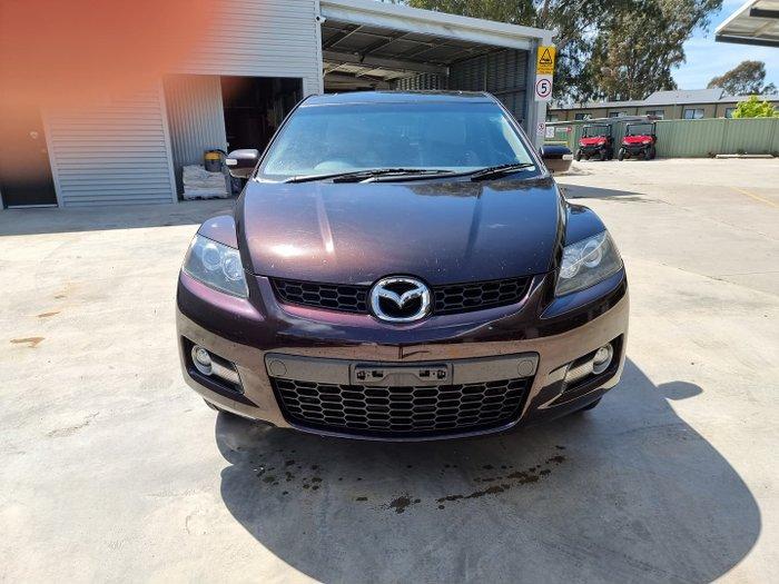 2009 Mazda CX-7 Luxury ER Series 1 MY07 Four Wheel Drive Sparkling Black