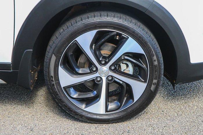 2018 Hyundai Tucson Highlander TLE2 MY18 AWD White