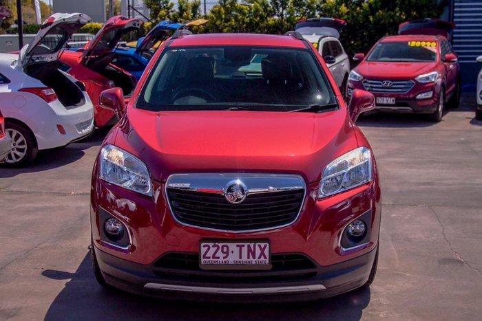 2013 Holden Trax LTZ TJ MY14 Velvet Red