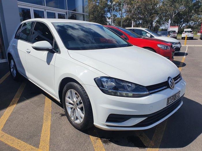 2017 Volkswagen Golf 110TSI 7.5 MY18 Pure White