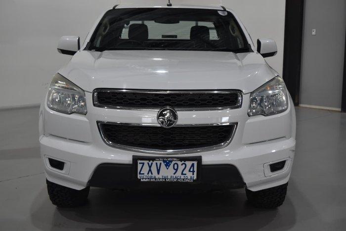 2013 Holden Colorado LX RG MY13 4X4 Dual Range Summit White
