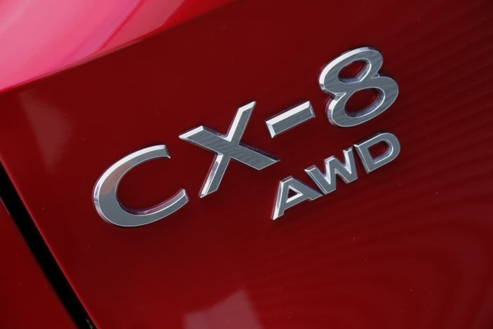 2020 Mazda CX-8 Asaki KG Series AWD Soul Red Crystal