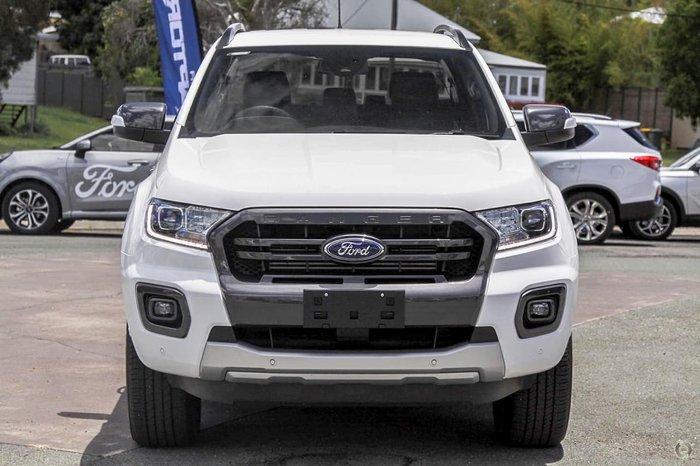 2021 Ford Ranger Wildtrak PX MkIII MY21.75 4X4 Dual Range Arctic White
