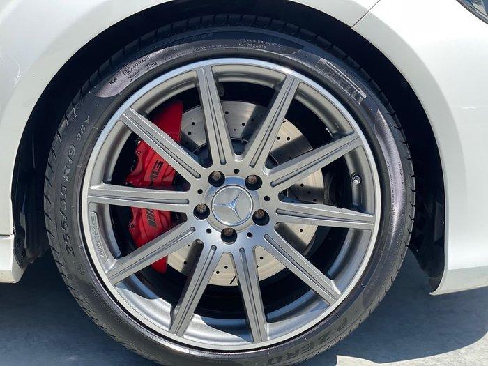 2014 Mercedes-Benz E-Class E63 AMG S W212 White