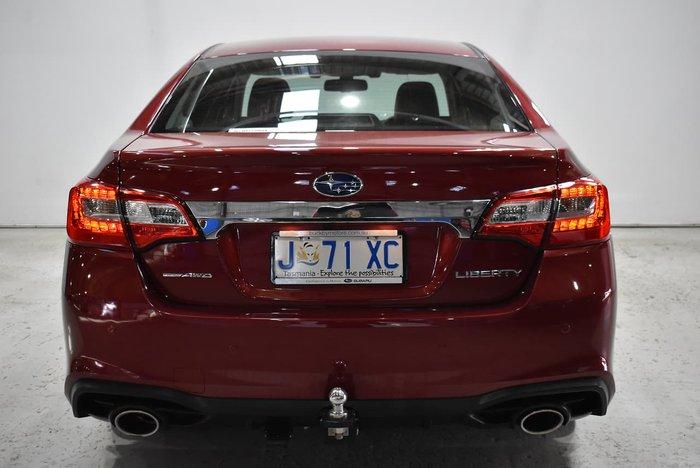 2018 Subaru Liberty 3.6R 6GEN MY18 AWD Crimson Red