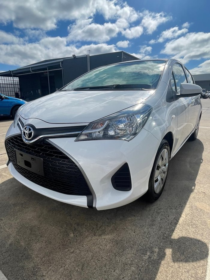 2016 Toyota Yaris Ascent NCP130R White
