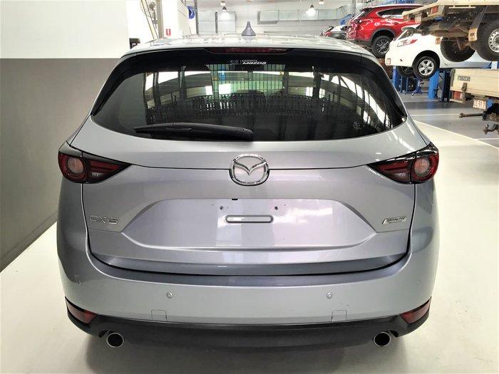 2018 Mazda CX-5 Maxx KF Series Silver