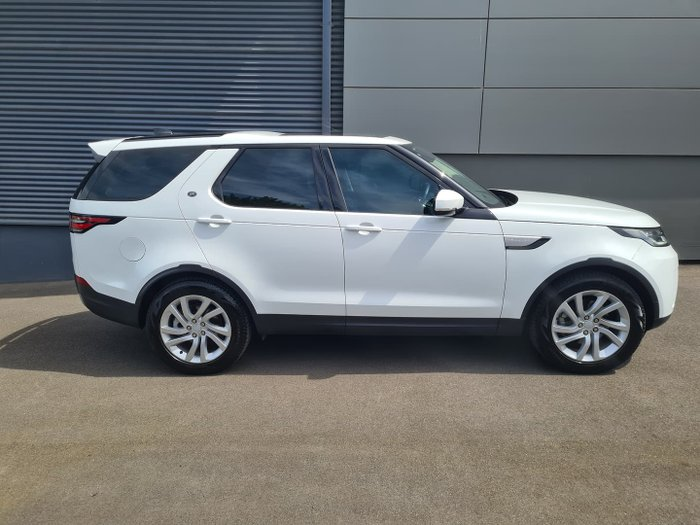 2019 Land Rover Discovery SD4 HSE Series 5 MY20 4X4 Dual Range Fuji White