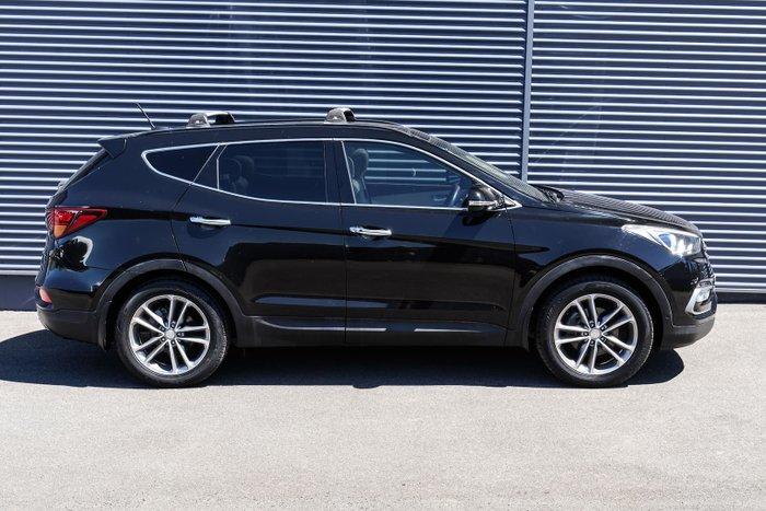2016 Hyundai Santa Fe Highlander DM3 Series II MY17 4X4 On Demand Phantom Black