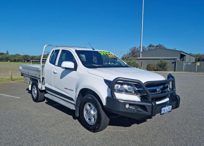 2019 Holden Colorado LS RG MY20 4X4 Dual Range Summit White