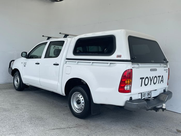 2008 Toyota Hilux Workmate TGN16R MY08 White