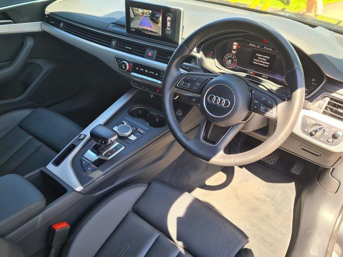 2017 Audi A4 sport B9 MY17 Manhattan Grey
