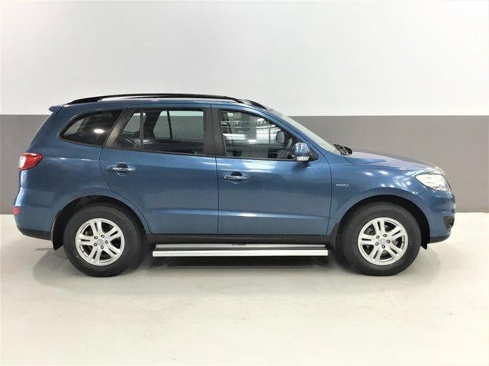 2012 Hyundai Santa Fe Elite CM MY12 4X4 On Demand Blue