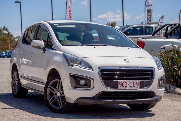 2015 Peugeot 3008 Active T8 MY15 Bianca White