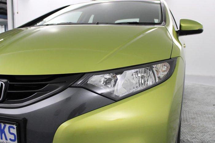 2013 Honda Civic VTi-S 9th Gen MY13 Green