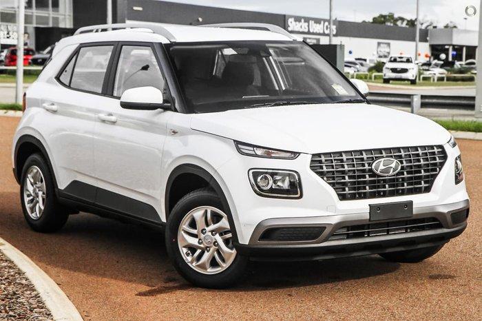 2021 Hyundai Venue QX.V3 MY21 White