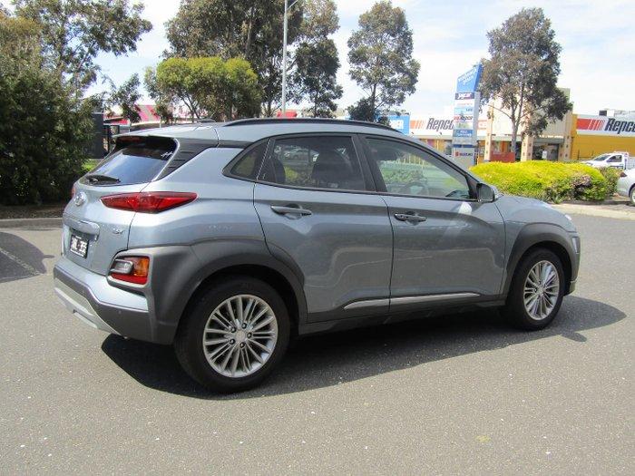 2017 Hyundai Kona Elite OS MY18 Dark Knight