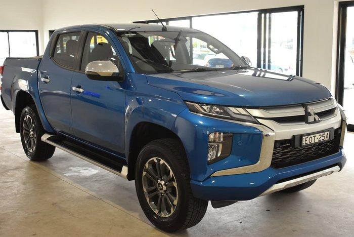 2020 Mitsubishi Triton GLS MR MY20 4X4 Dual Range Blue