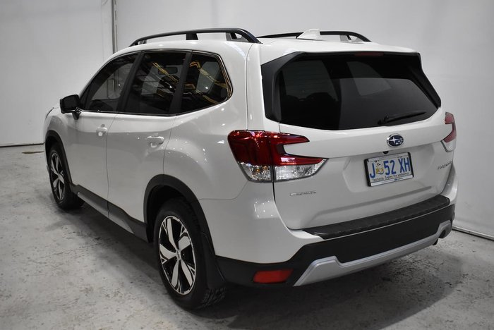 2020 Subaru Forester 2.5i-S S5 MY21 AWD Crystal White