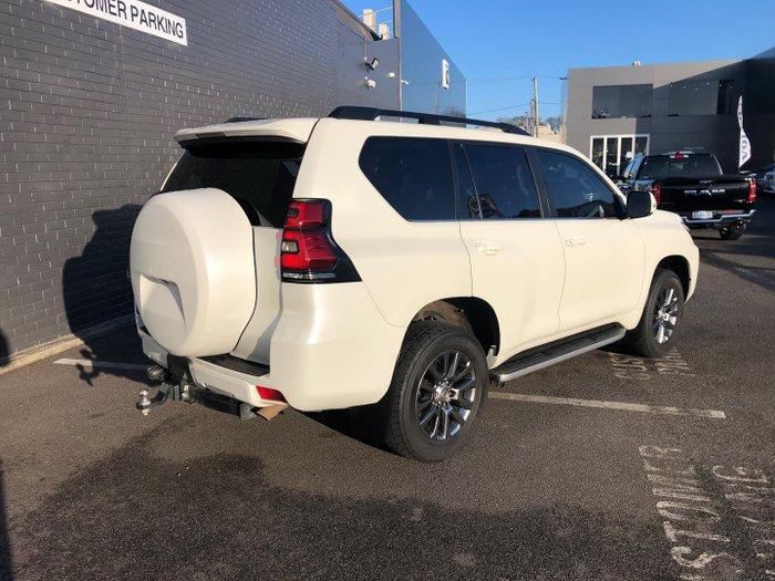 2018 Toyota Landcruiser Prado VX GDJ150R 4X4 Dual Range White