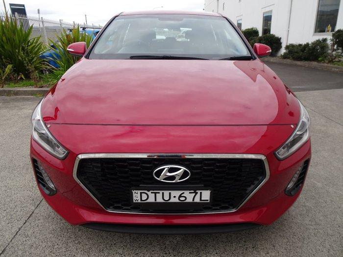 2017 Hyundai i30 Active GD4 Series II MY17 Fiery Red