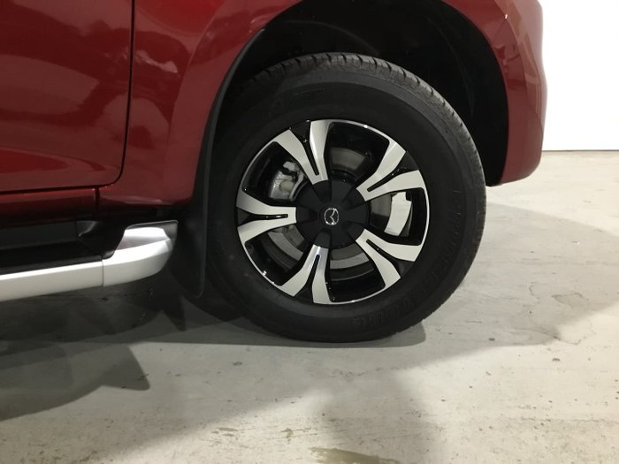 2020 Mazda BT-50 GT TF 4X4 Dual Range Red Volcano