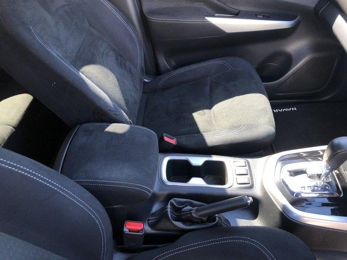 2018 Nissan Navara SL D23 Series 3 4X4 Dual Range Black