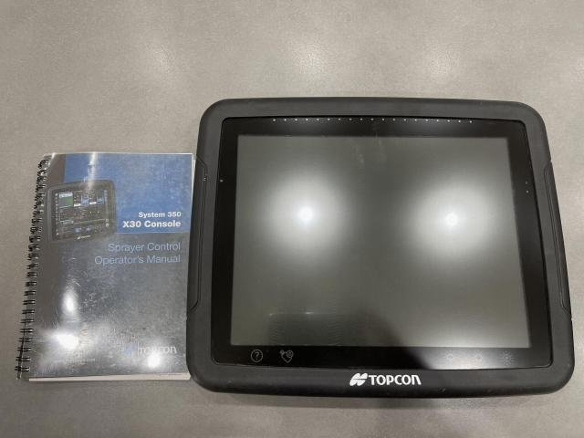 TopCon X30 Display TOPCON X30 CONSOLE STEERING CONTROLLER Black