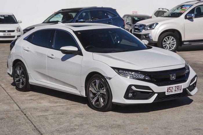 2020 Honda Civic VTi-LX 10th Gen MY20 Platinum White