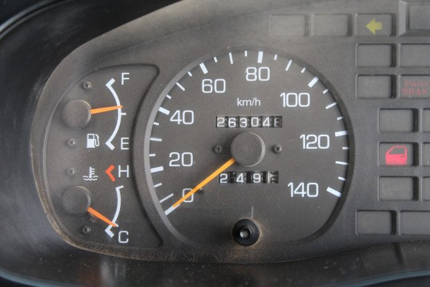 2007 Mitsubishi FV51 EX-COUNCIL / LOW KM'S WHITE