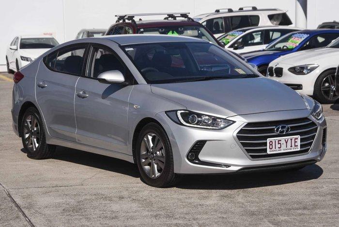 2017 Hyundai Elantra Active AD MY17 Silver