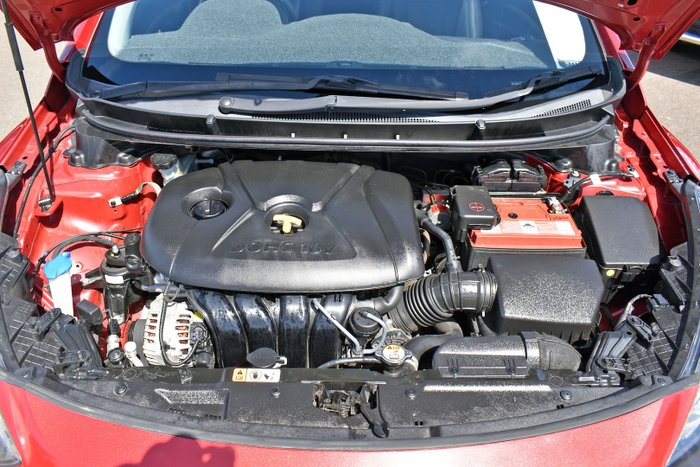2014 Hyundai i30 Trophy GD2 MY14 Brilliant Red