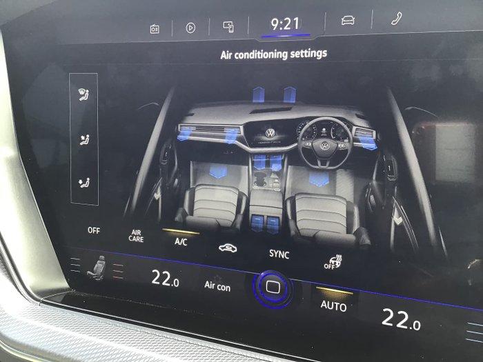 2021 Volkswagen Touareg 210TDI R-Line CR MY21 Four Wheel Drive Deep Black