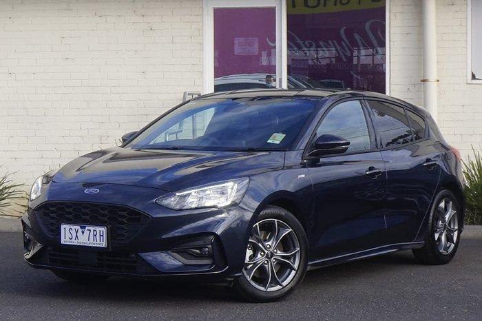 2020 Ford Focus ST-Line SA MY20.75 Blue