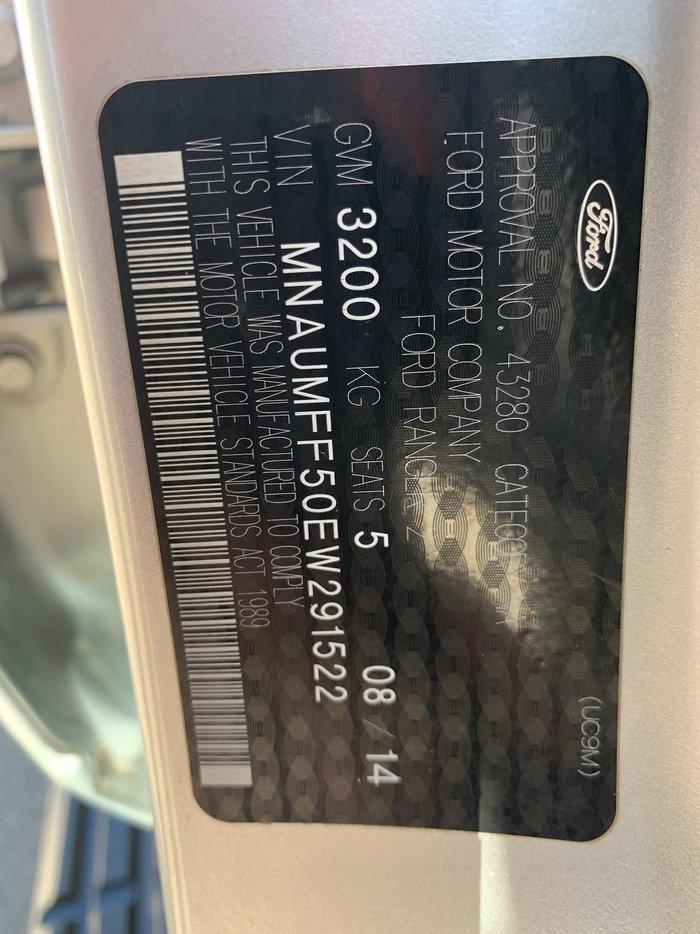 2014 Ford Ranger XLS PX 4X4 Dual Range Silver