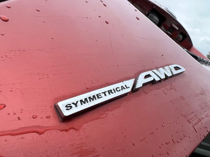 2011 Subaru Impreza XV Mizuno G3 MY11 AWD Red