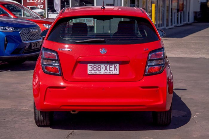 2016 Holden Barina LS TM MY17 Absolute Red