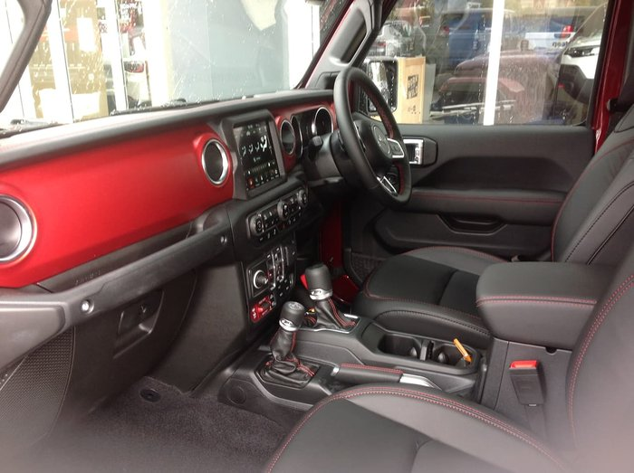 2021 Jeep Gladiator Rubicon JT MY21 V2 4X4 On Demand Red