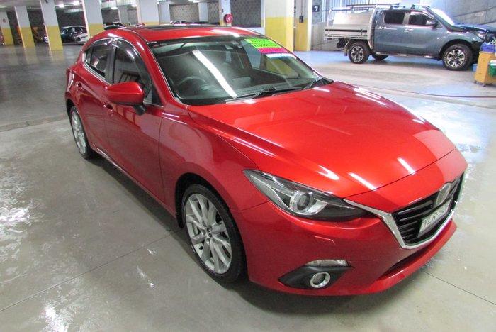 2014 Mazda 3 SP25 Astina BM Series Soul Red