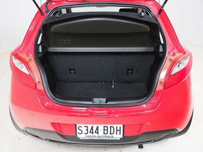 2014 Mazda 2 Neo Sport DE Series 2 MY14 Red