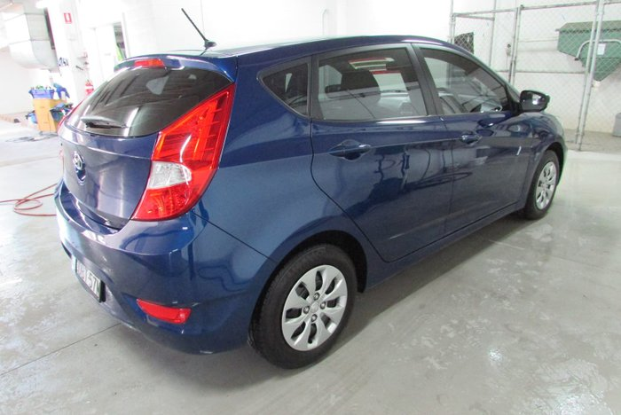 2015 Hyundai Accent Active RB3 MY16 Dazzling Blue