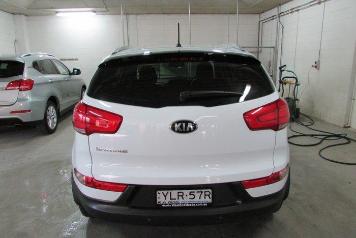 2014 Kia Sportage Si SL MY14 Casa White