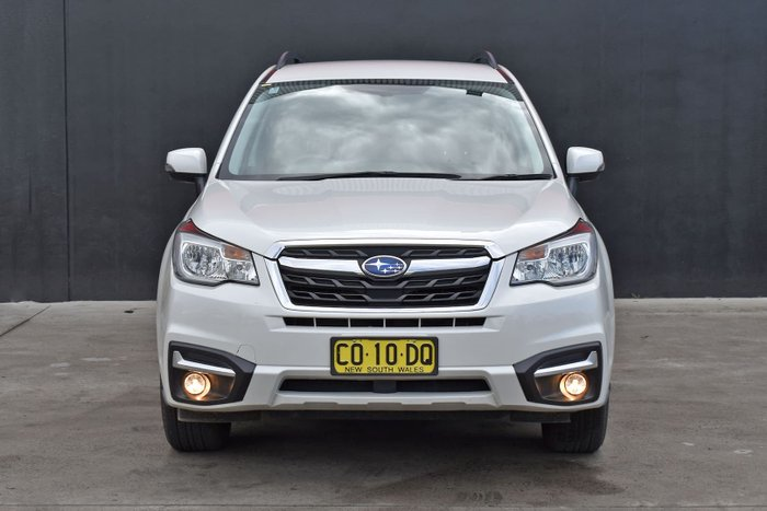 2018 Subaru Forester 2.5i-L S4 MY18 AWD Crystal White