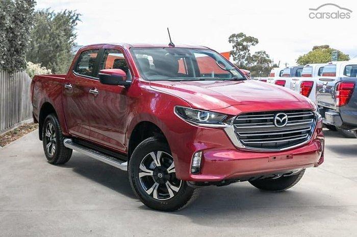 2021 Mazda BT-50 XTR TF Red