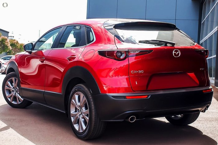 2021 Mazda CX-30 G20 Evolve DM Series Red